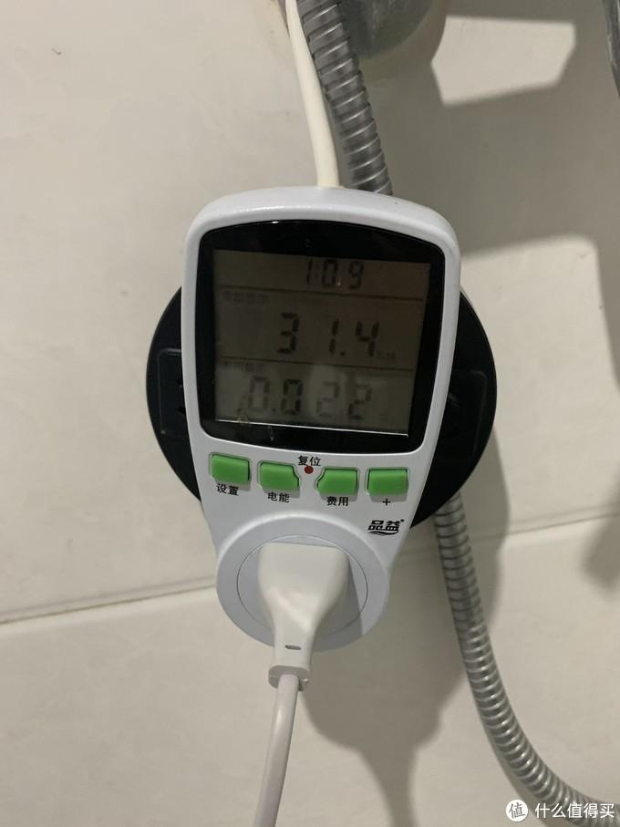 测试功率,这是2挡,1挡就是接通,2档低温,3档高温