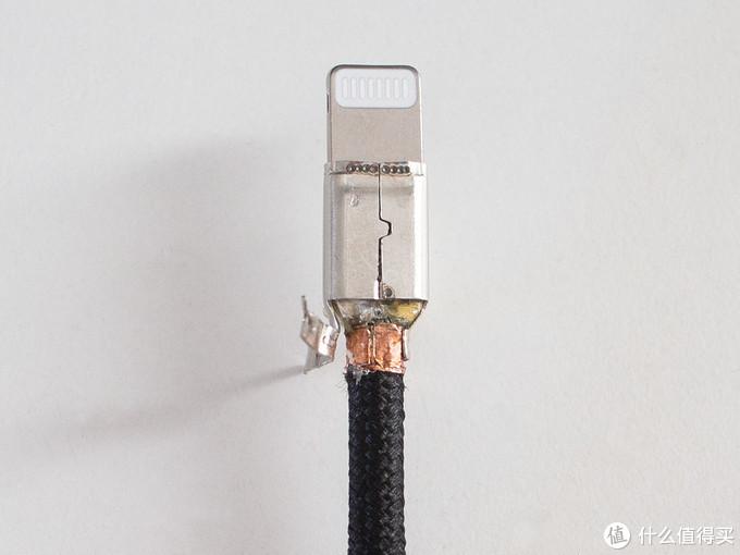 MFi价格屠夫 ifory安福瑞 USB-C to Lightning 编织线拆解分析