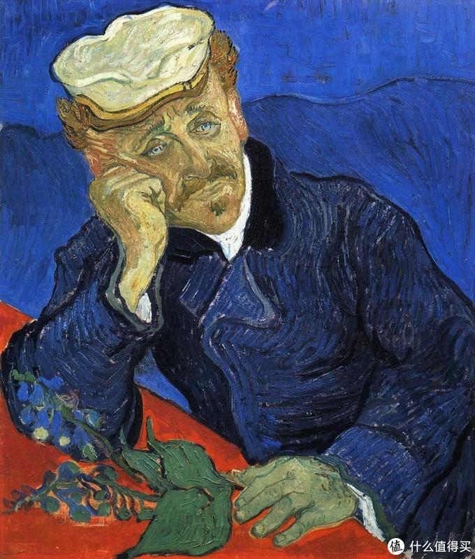 Doctor Gachet by Vincent van Gogh(Musée d'Orsay)