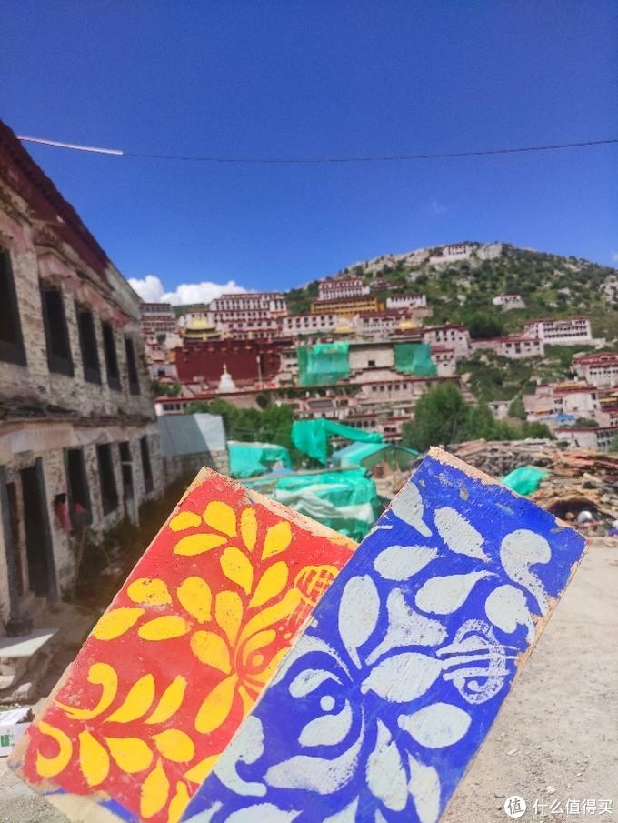 西藏之旅:旺波日山上的甘丹寺