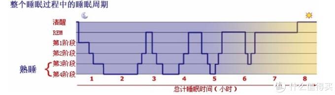 睡眠周期图