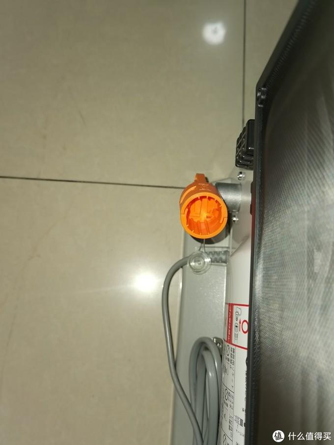 机器背部安全接口(买错管件无法插入)
