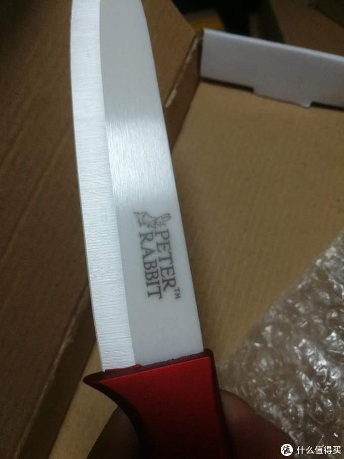 比得兔陶瓷刀PR-T551五件套开箱测评