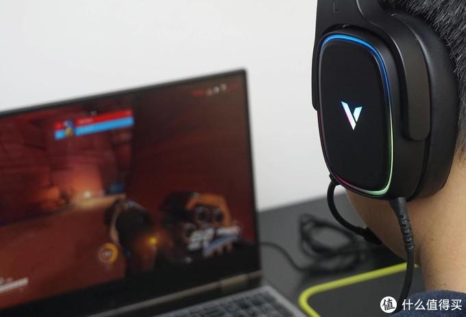 声色俱全畅快游戏,虚拟7.1环绕音效雷柏VH700游戏耳机体验
