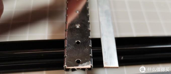 打磨后露出铜质本体