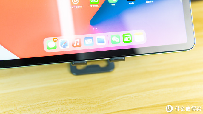 给iPad提供更好的支撑:绿联 80708 金属手机平板支架 使用体验