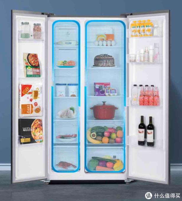 小米米家互联网对开门冰箱今日开售:540L超大容量