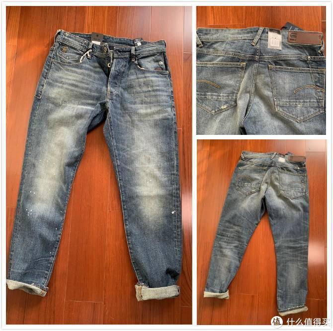 总有人问我G-star RAW 牛仔裤怎么选? 真人秀尺码建议