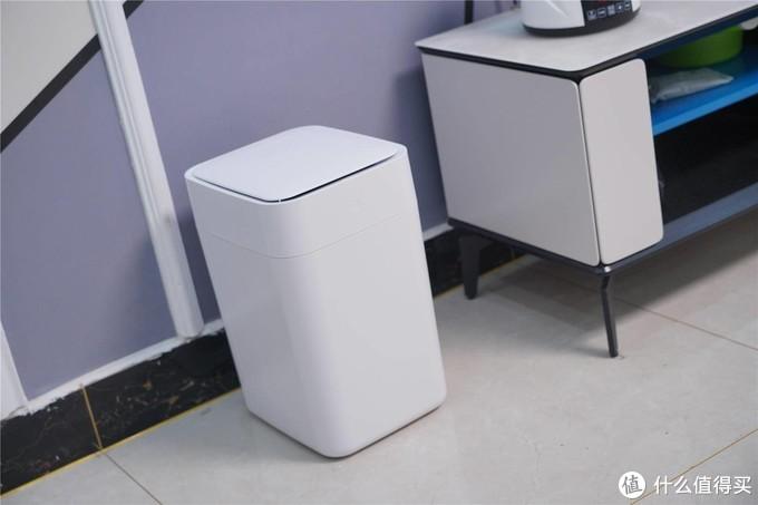 智能垃圾桶,提升你的生活质量--拓牛T1S智能垃圾桶分享
