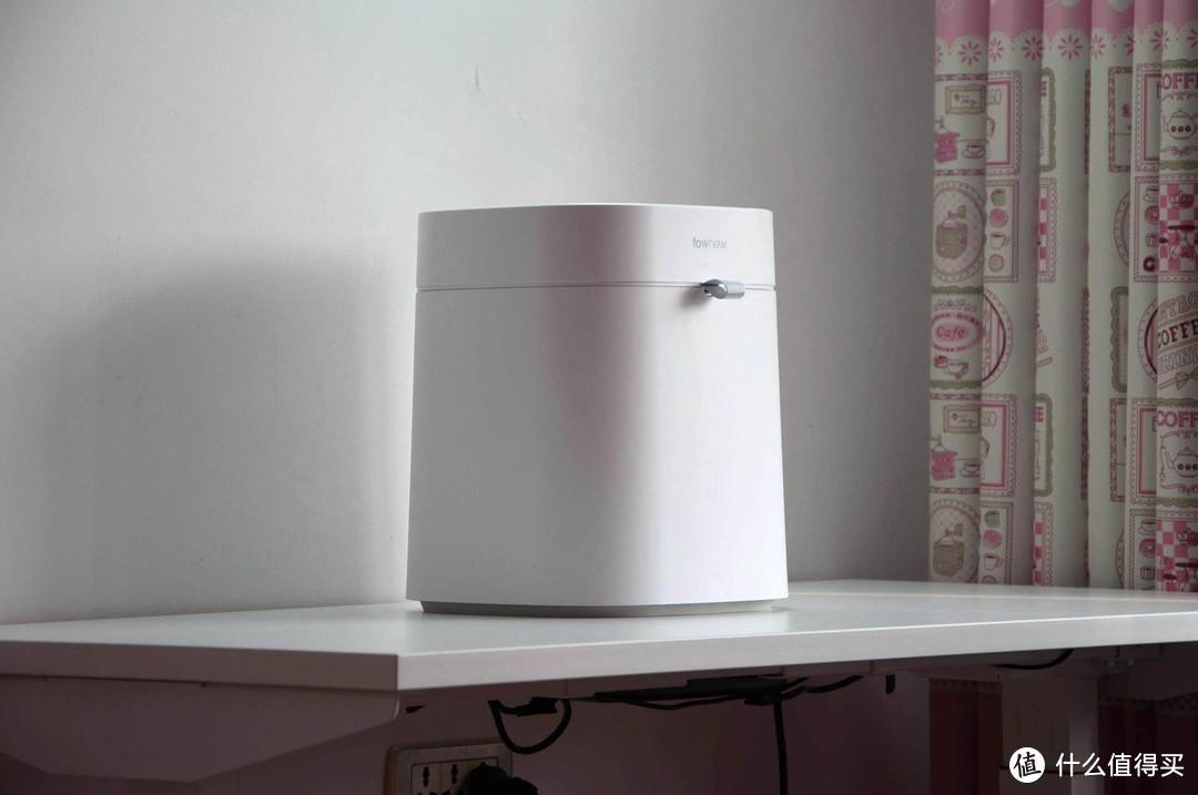 拓牛智能垃圾桶体验,16.6L敞口大容量还能一键打包