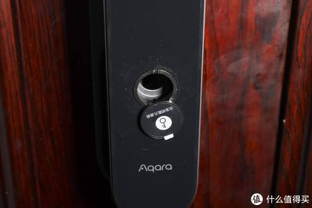 无视霸王锁体,aqara D100智能推拉门锁开箱