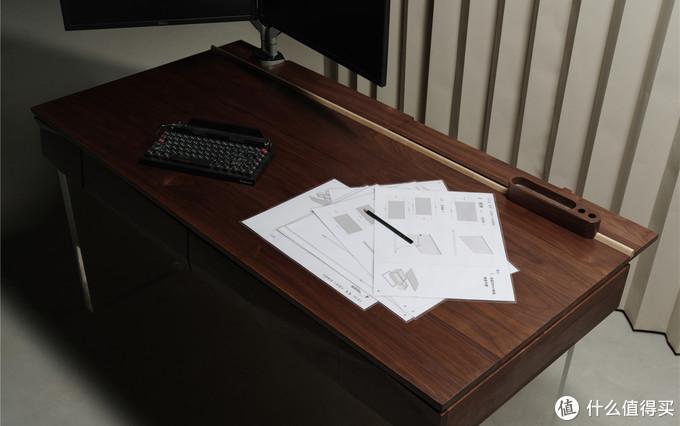 一个工作台首先桌面要够大,够大,够大