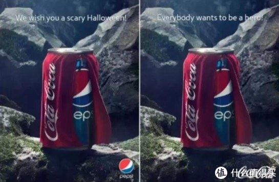 百事可乐在万圣节的广告以及可口可乐的反击