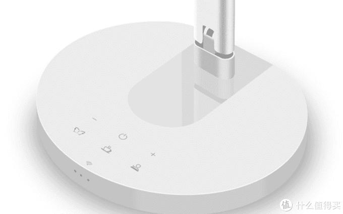 台灯面板带触摸开关,阅读,休闲,工作三种模式,最前面是WIFI指示灯