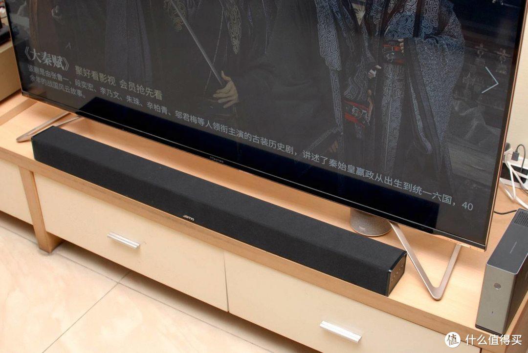 让电视秒变影院,不一样的震撼音效:尊宝J608回音壁体验