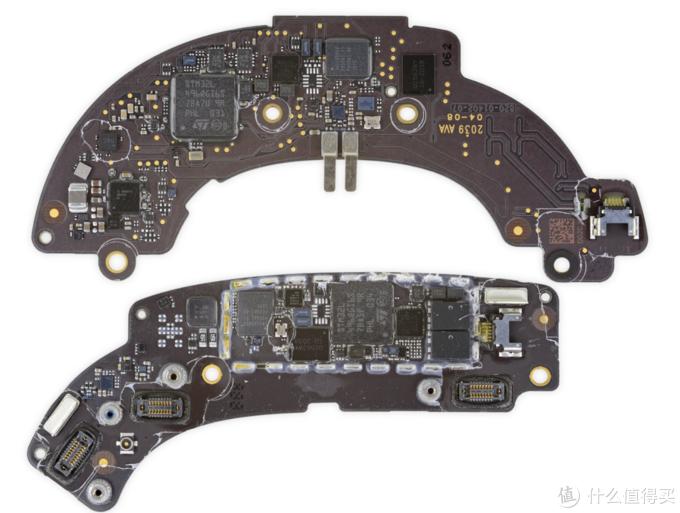 苹果AirPods Max耳机拆解,集成度高,电池不易更换