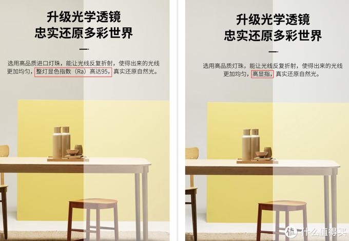 左边是RA95款式的海报,右边是RA80款式的海报