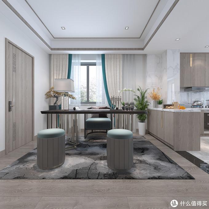 她家的中式风虽然不豪华,但是处处透露着高级感,好看到让人赞叹