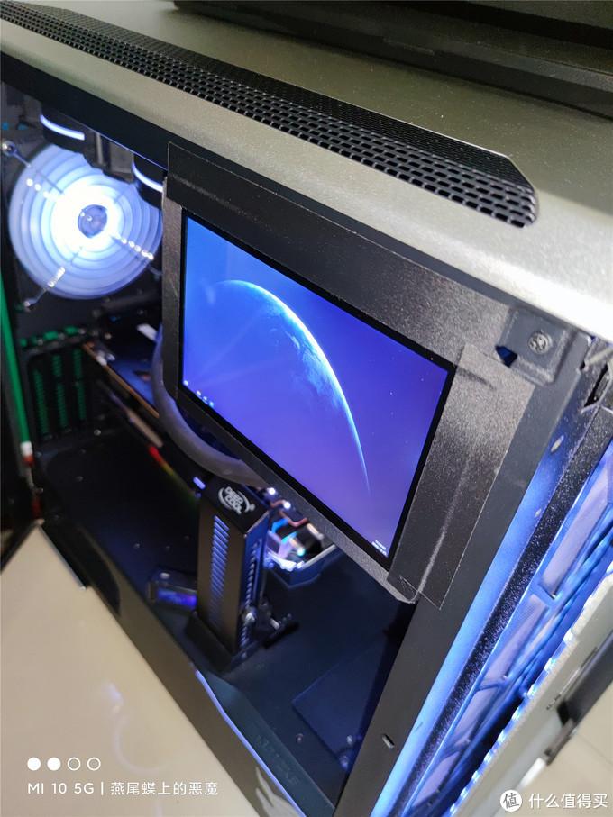 电子垃圾再利用,闲置平板做机箱副屏