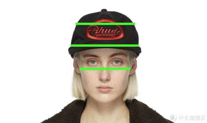 摘自SSENSE,再说一遍,Rhude的帽型真的很大~因为创始人也脸宽...
