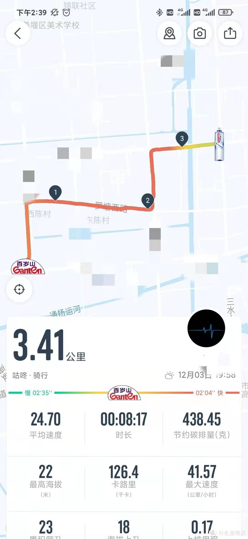咕咚轨迹轨迹图