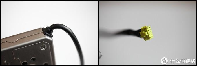 锁体尾部的数据线,10芯接口