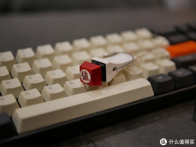 """终于GET""""值""""字键帽,搭配我的GANSS ALT71茶轴机械键盘"""
