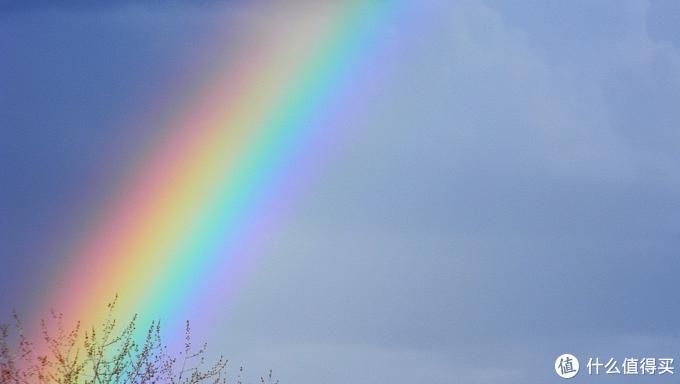 彩虹就是全光谱色散的产物