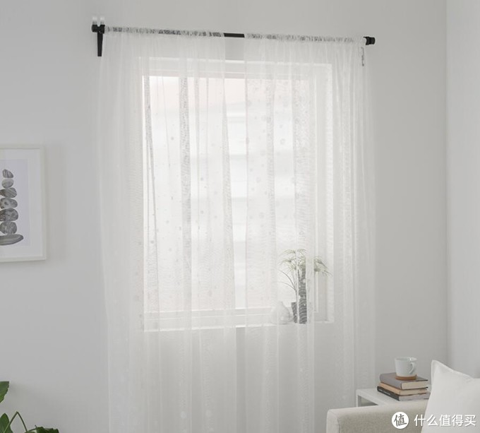 只需299元,IKEA宜家VILBORG威尔伯双层窗帘购买安装一条龙