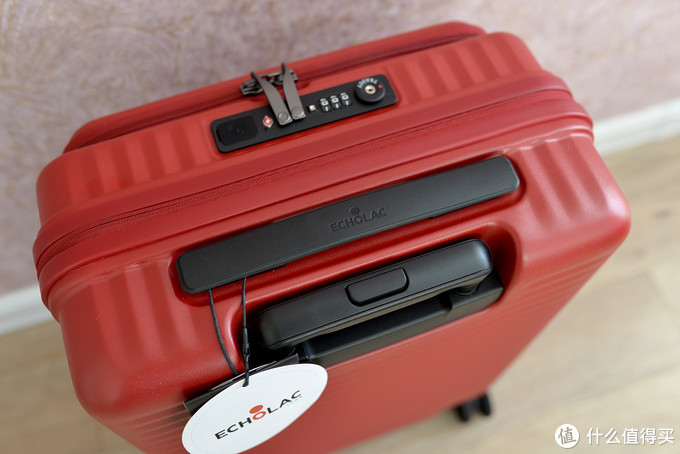 前开盖、可充电,超实用的20寸爱可乐宝藏行李箱晒单