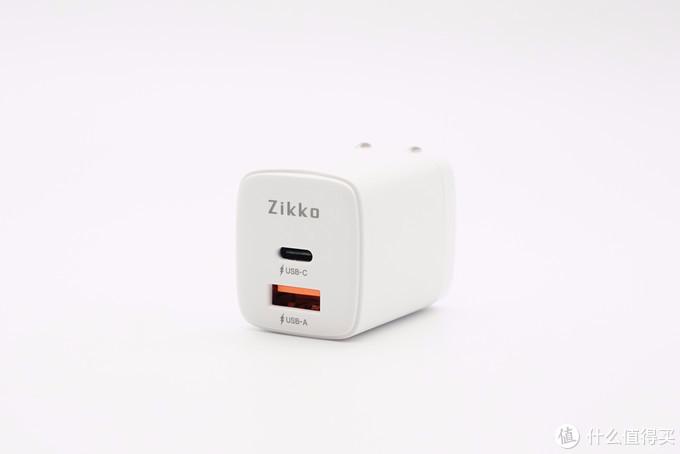 拆解报告:Zikko即刻20W 1A1C双口快充充电器