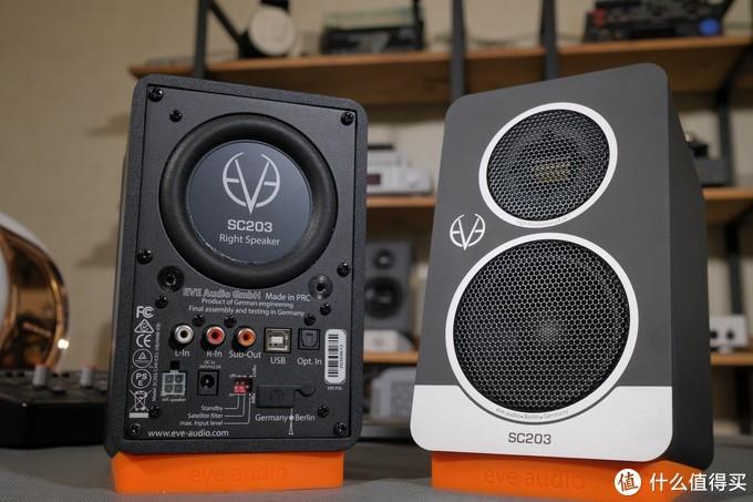 5000元价位的德国纯进口,气动高音桌面有源箱SC203