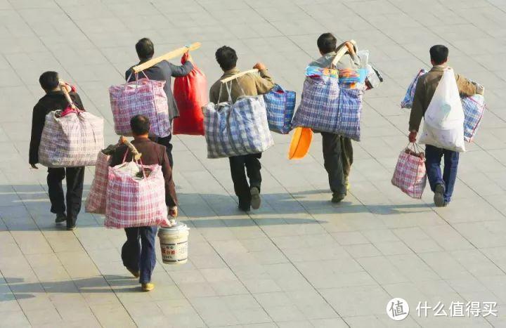 「打工人背包全系展」打工人,打工魂,背包装着一个家,加厚尿素袋子15元10个