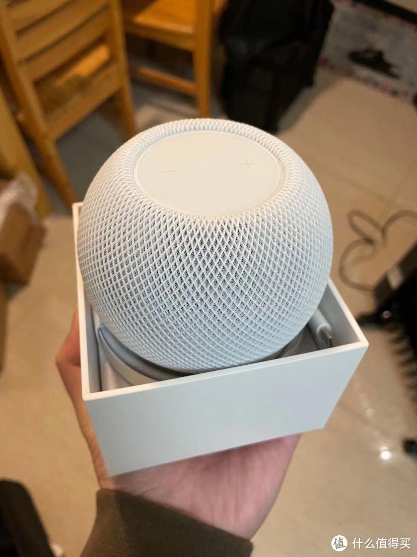 组成苹果全家桶的最后一个稻草——苹果homepod mini开箱