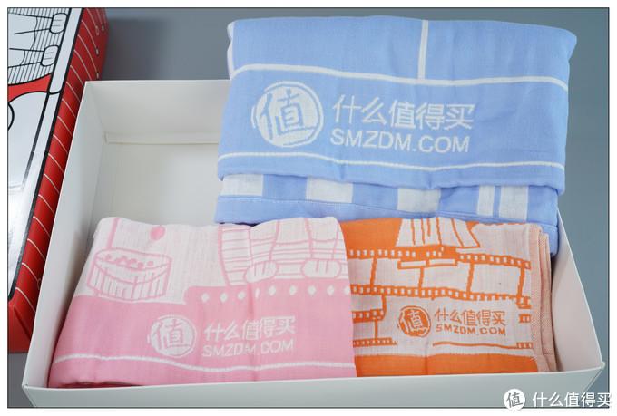 每条毛巾上都有值得买定制标