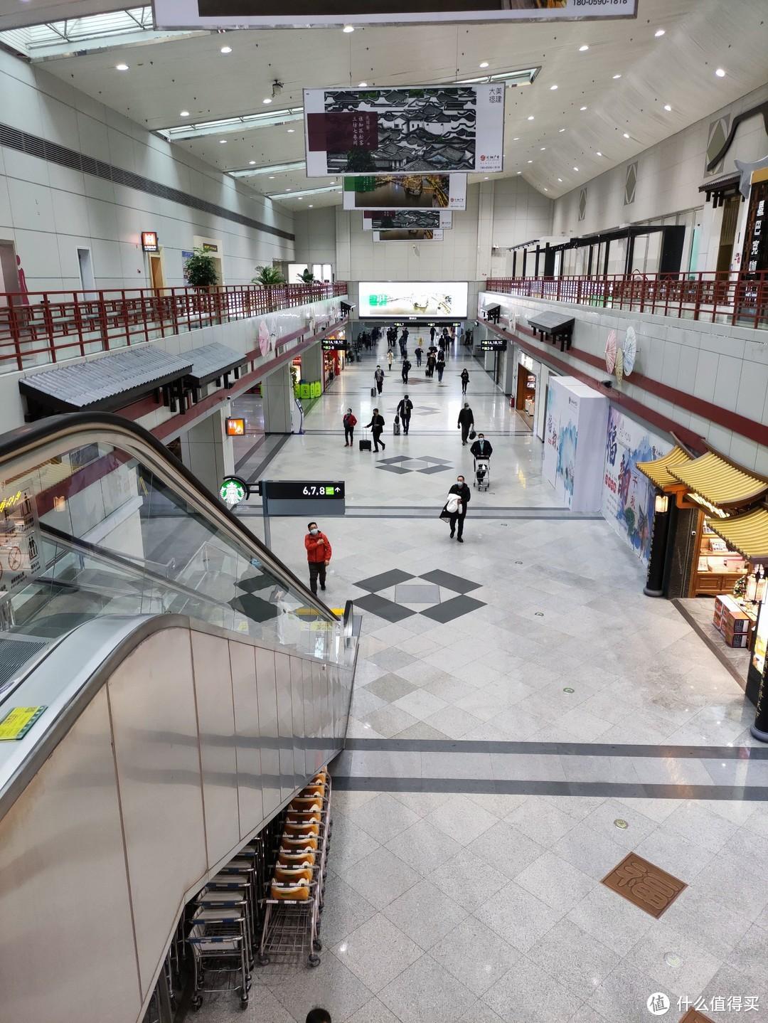 福州机场,设计风格感觉和厦门机场很像