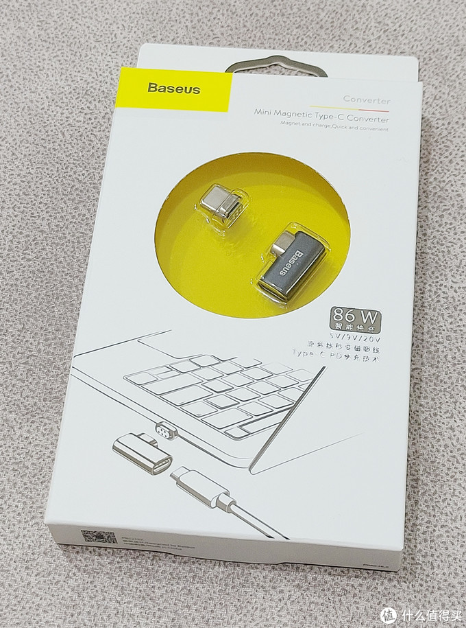 迷你磁吸Type-C转接头,给MacBook Pro m1找回使用MagSafe磁吸充电的感觉!