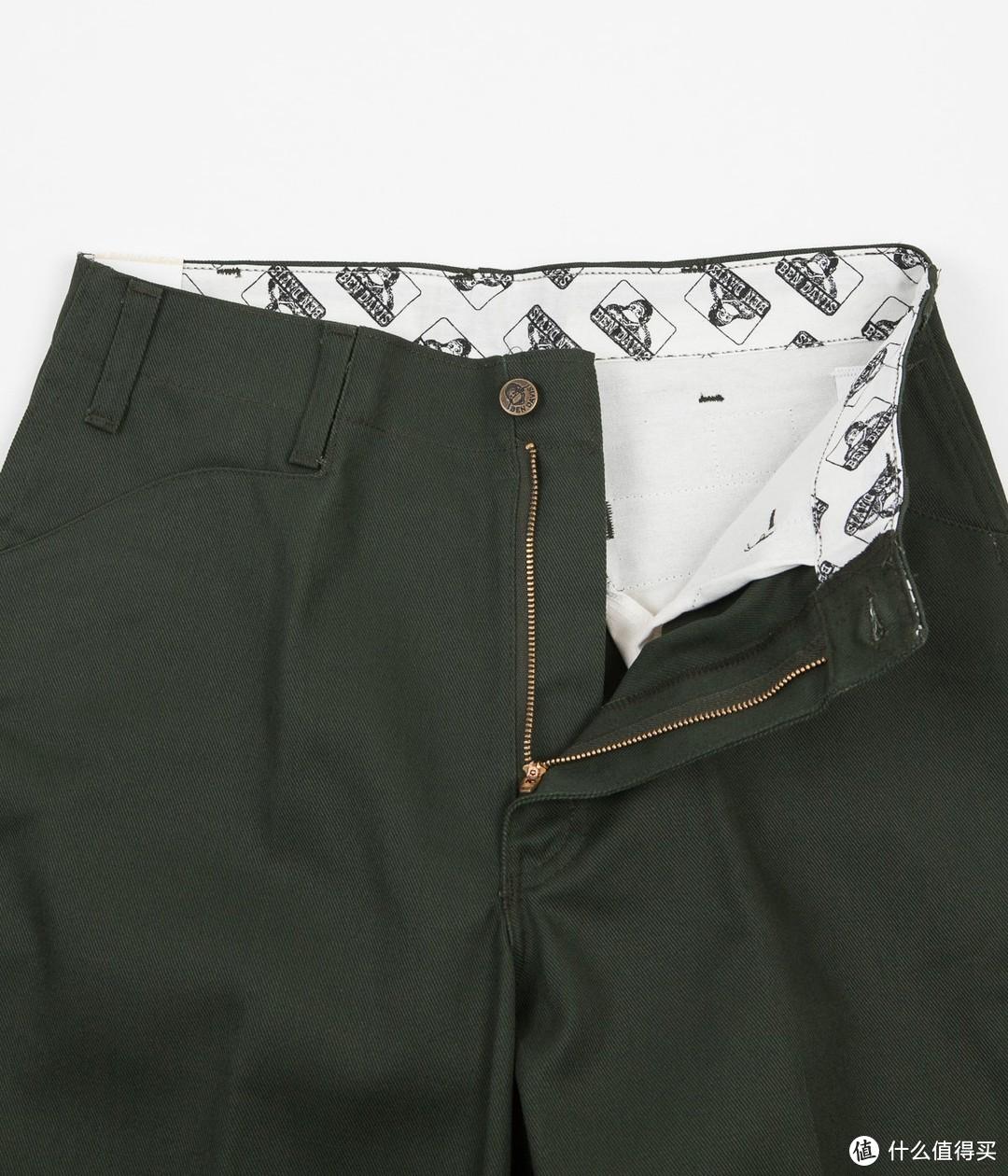 五袋裤(非常规口袋边缘),摘自Flatspot