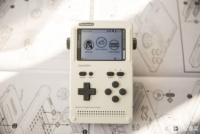 从小玩着GAMEBOY长大的老玩家,开源掌机GameShell评测