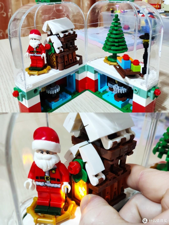 圣诞旋转小屋