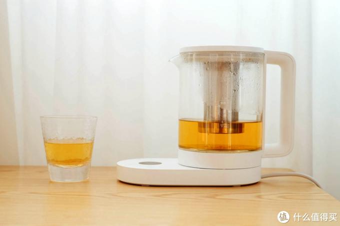 从此喝水、饮茶、泡奶再也不用等!-米家智能多功能养生壶体验