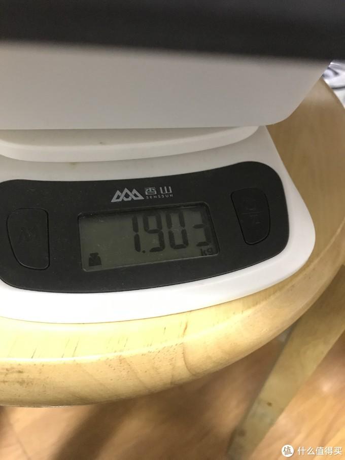 带包装盒1.903kg