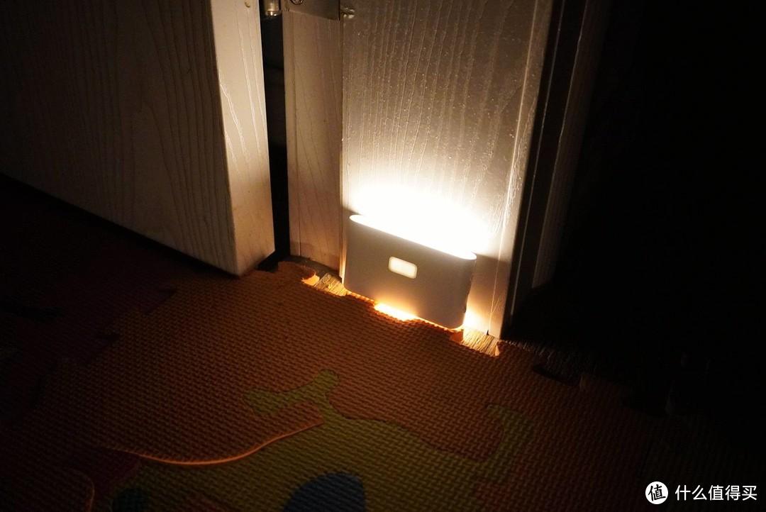 华来小方智能联动感应夜灯,温暖每一个漆黑的夜晚