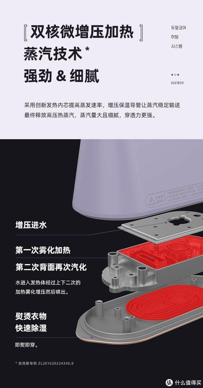 有老熨斗感觉,比挂烫机好用的DAEWOO/大宇 HI-029折叠蒸汽电熨斗轻晒简测