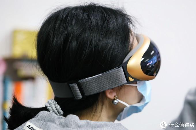 铂适可视护眼仪,做眼保健操时还能刷手机