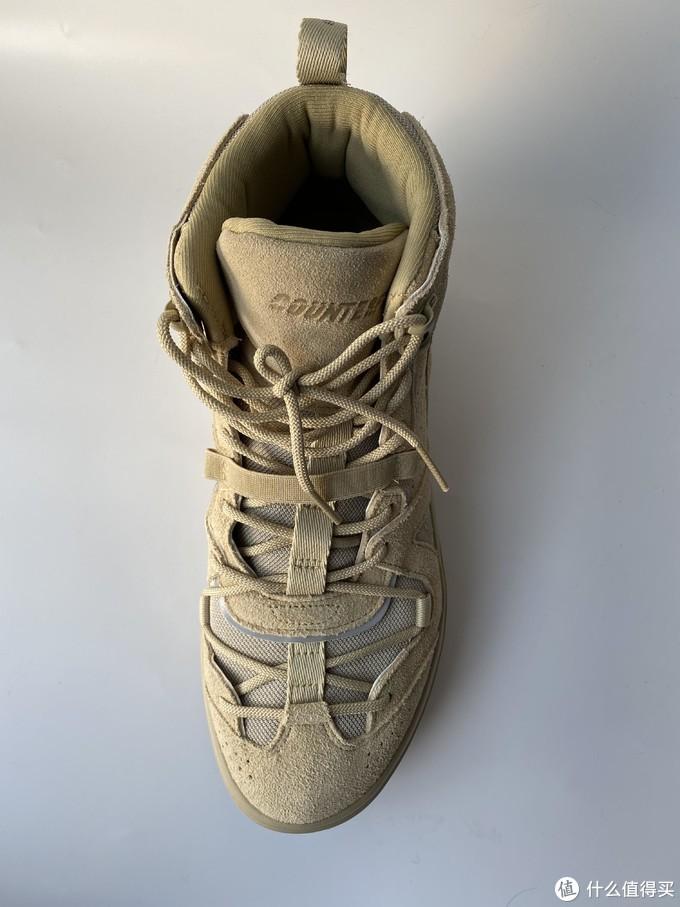 教主看了会沉默,小四看了会流泪——李宁CF攀爬者休闲鞋晒单
