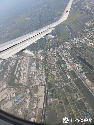 刚起飞,靠近曼谷建筑还是挺多的