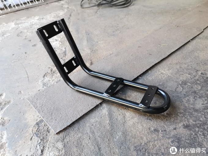 入手雅迪雅睿折腾添加配件(前车篮、后座架、脚架、尾箱等)