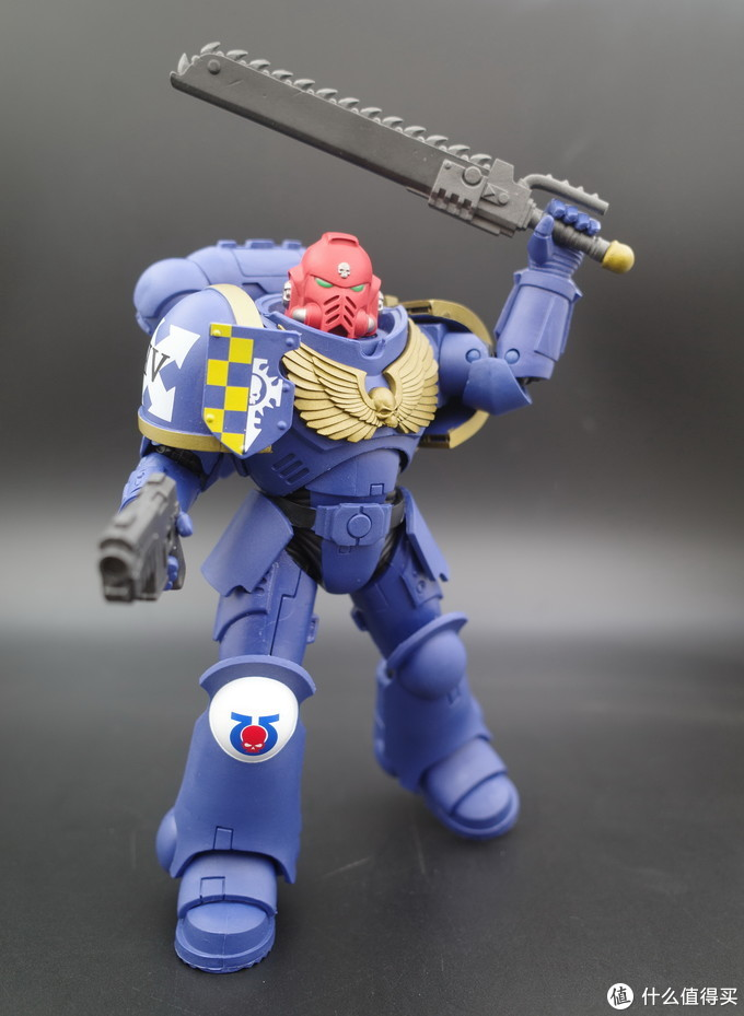 麦克法兰 原铸星际战士士官 可动手办晒单