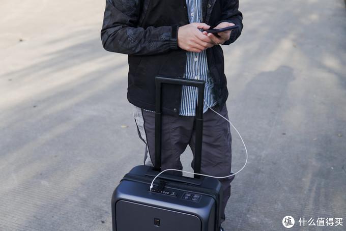 便携取物,专为商务人士设计,地平线8号ONE TOUCH拉杆箱体验